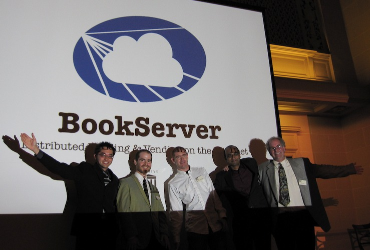 Internet Archive BookServer Launch